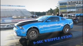 9-sec Whipple Blown GT500 Gets His NHRA License