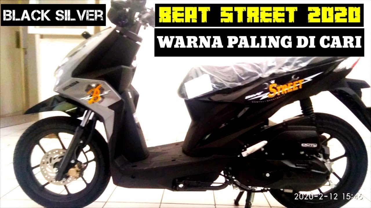 Beat Street Warna Terbaru 2020 Black Silver Youtube