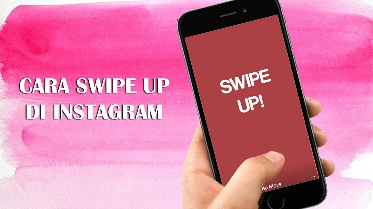 Cara Swipe Up Di Instagram Ala Selebgram Bisa Naikin Traffic Web Atau Viewers Youtube Tribun Video