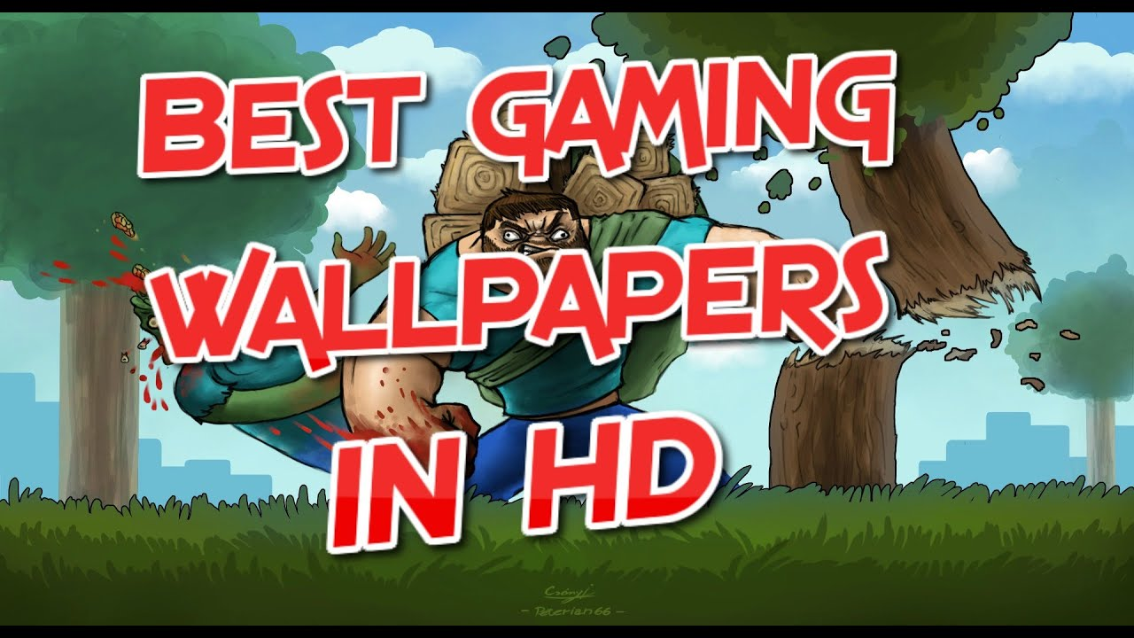 Best gaming wallpapers in HD - YouTube