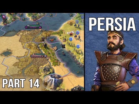 Let's Play Civilization 6 Persia Gameplay (1440p) - Part 14: The Slow War