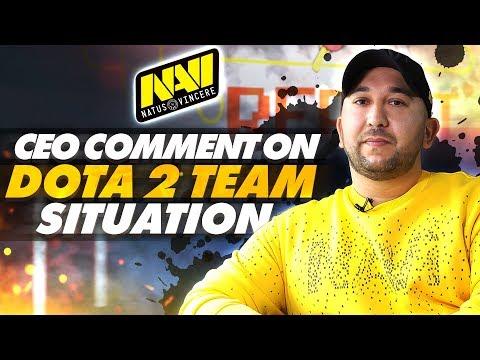 Комментарий CEO NAVI о Ситуации с Dota 2 Составом