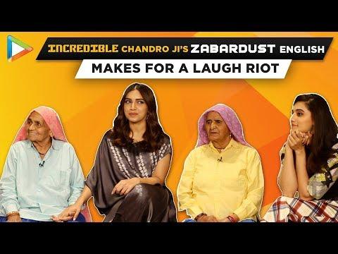 ROFL: Taapsee Calls Bhumi 'BOMBAY BABE' | Why She CRIED? | Saand Ki Aankh | Chandro | Prakashi Mp3