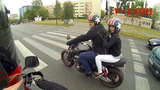 NICE ASS! Onboard Suzuki V-Strom 1000