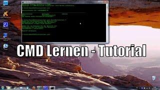 Einfaches Programmieren [Folge 1 lernen] mit einem gewöhnlichem Textdokument [CMD Tutorial Deutsch]