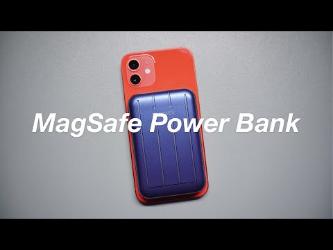 MagSafe Magnetic Wireless Power Bank Unboxing & Test - No Talking