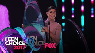 "Vanessa Hudgens Accepts The ""See Her"" Award 