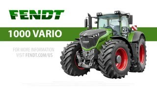 Fendt 1000 Vario - The World's Largest Draft Tractor