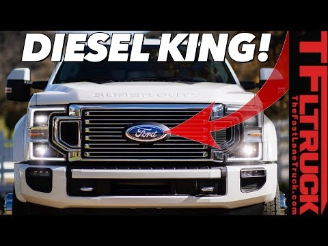 Here's How the 2020 Ford Super Duty Diesel Makes 1,050 Lb-Ft of Torque!