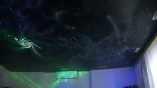 Звездное небо натяжной потолок. Это фантастика!!!!(Натяжной потолок