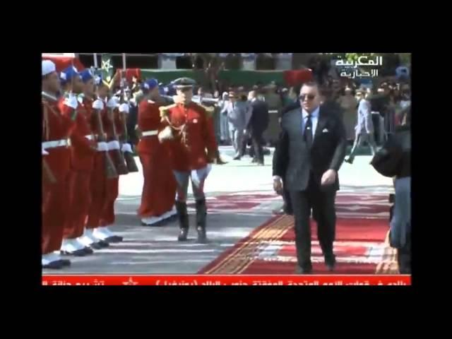 تدشين صاحب الجلالة الملك محمد السادس07 04 2015