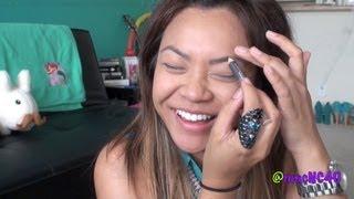 No Mirror Makeup Challenge.. dun dun DUNNN! lol Thumbnail