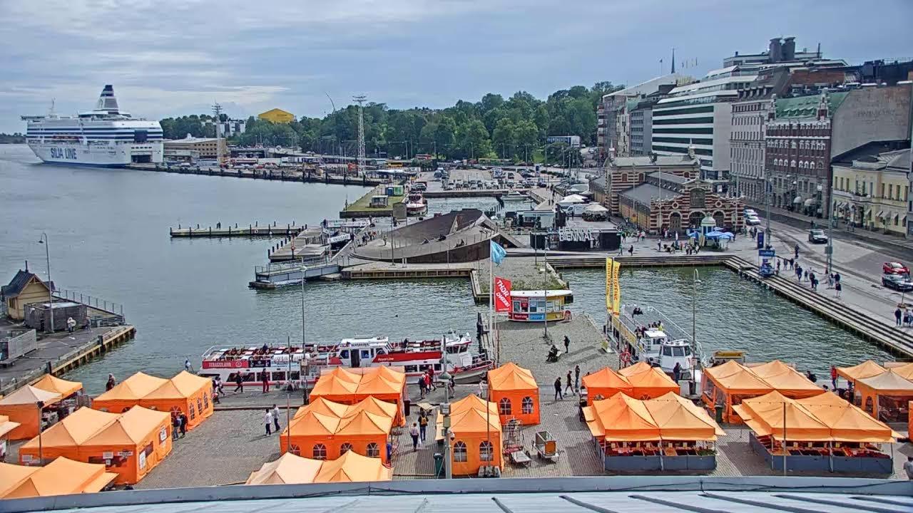 Port of Helsinki - South Harbour Live (Live Camera Axis Q6155-E)