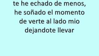 Te he echado de menos - Pablo Alborán letra