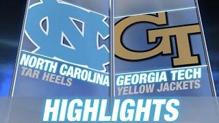 North Carolina vs Georgia Tech   2014-15 ACC Men