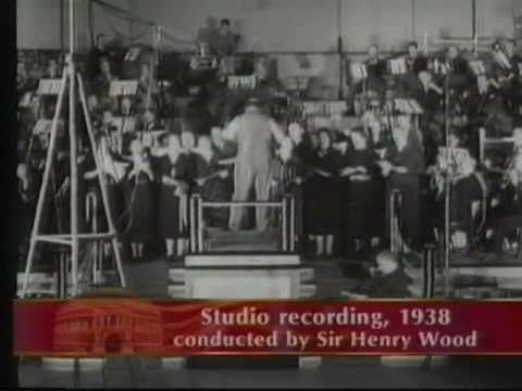Film on Sir Henry Wood creator of the BBC Prom Concerts