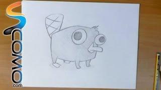 Dibujar a Perry el ornitorrinco