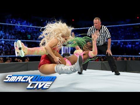 Naomi Vs. Lana - SmackDown Women's Title Match: SmackDown LIVE, June 27, 2017