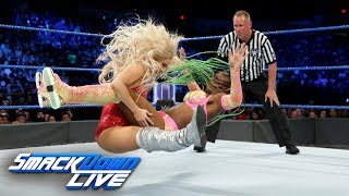 Naomi vs. Lana SmackDown Women