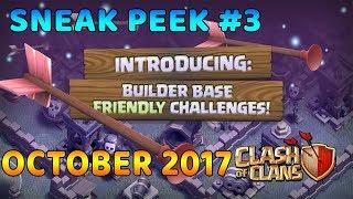 CLASH OF CLANS OCTOBER UPDATE SNEAK PEEK #3 - Builder Base Friendly Challenges (Hindi)