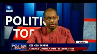 Why 2018 Budget Is Frivolous And Wasteful - Onyekpere  Politics Today 