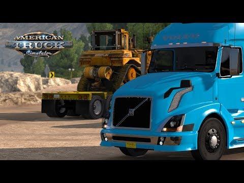 American Truck Simulator - Big Sur Landslide