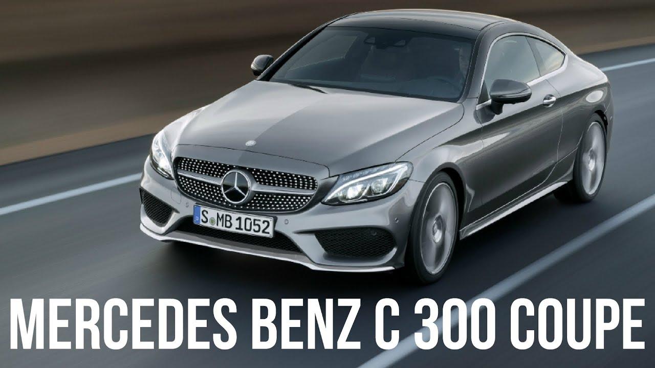 2017 MercedesBenz C 300 Selenit Grey Coupe Drive  YouTube