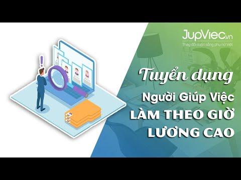 JupViec.vn tuyển dụng GIÚP VIỆC NHÀ THEO GIỜ lương cao