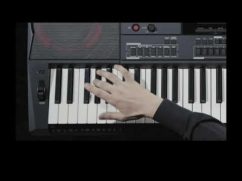 CASIO 카시오 CT-X5000 비디오 매뉴얼 - 제 5장 : 유저리듬 만들기