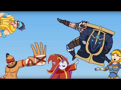 League of Legends Community Collab Mix V4   LULU MIX - BRAUMIX【1 HOUR】