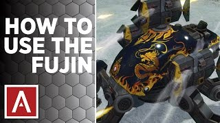 War Robots [WR] Tutorial - How to use the Fujin