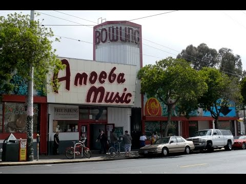 Record Store Walking Tour #35  Amoeba Music in San Francisco, CA