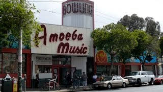 Record Store Walking Tour #35 - Amoeba Music in San Francisco, CA