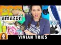 8 Weird Amazon Products - Vivian Tries