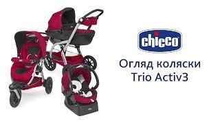 Коляска Trio Activ3(Трехколесная модульная коляска Trio Activ3 подойдет для городских прогулок и выезда на бездорожье. Большие..., 2015-09-21T11:27:19.000Z)