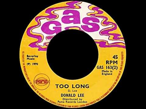 Donald Lee ‎– Too Long