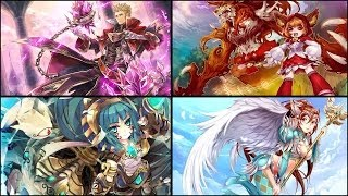 Core Masters Online Japan Character Voices Emotes and Skills Preview