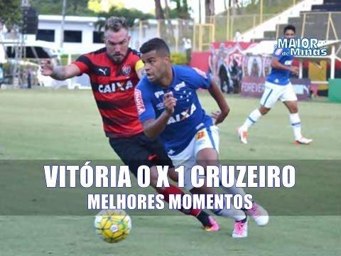 Vitória 0 x 1 Cruzeiro - Melhores Momentos - 32ª Rodada, Campeonato Brasileiro 2016
