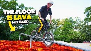 THE FLOOR IS LAVA BMX CHALLENGE 🔥