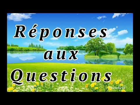 Abdoulaye Koita Réponses Aux Questions 34eme