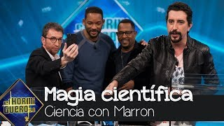Will Smith y Martin Lawrence alucinan con la ciencia de Marron - El Hormiguero