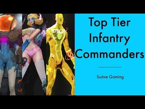 Top Tier Infantry Commanders - Ark of War