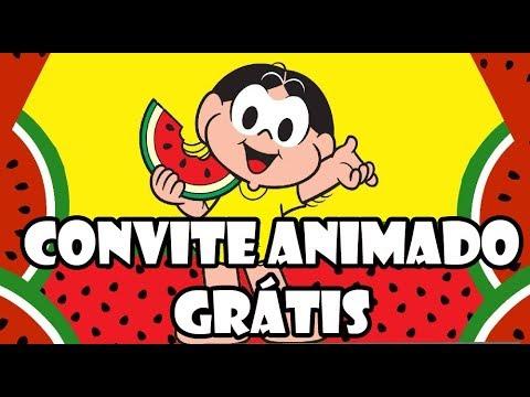 Convite Virtual Magali Grátis Youtube