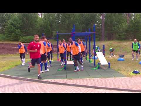 Сборы 2018. Белоруссия. Тренировка