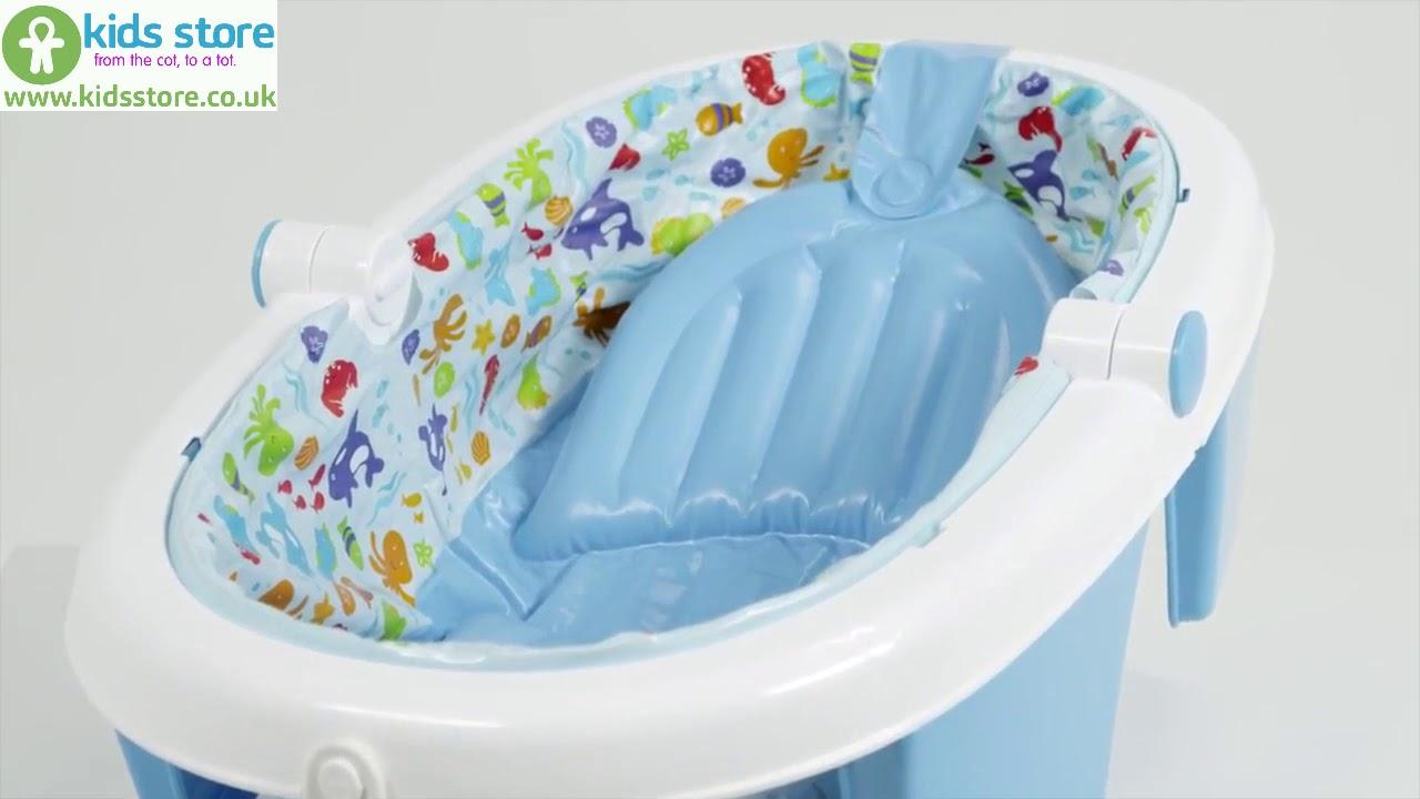 Summer Infant Foldaway Baby Bath - YouTube
