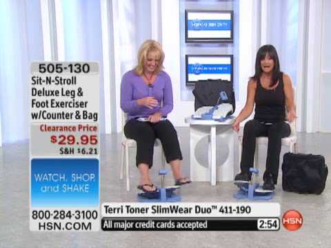 Sit N Stroll Deluxe Leg And Foot Exerciser Youtube