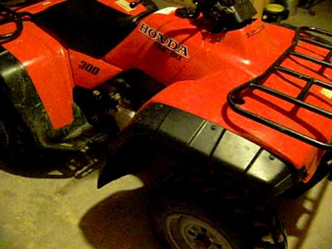 1998 Honda Fourtrax 300 2wd For Sale