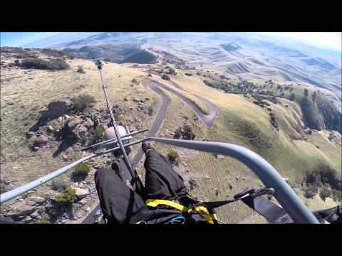 Paramotoring abandoned missile complex and sutter buttes