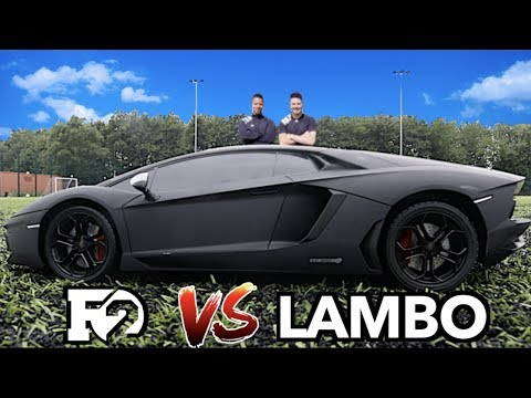 F2FREESTYLERS VS LAMBORGHINI