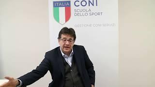 """Luca Pancalli al """"Corso di Alta Specializzazione in Management Olimpico"""""""